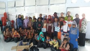 Bantuan bencana longsor Banjarnegara