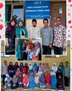 Penyerahan Bantuan ke Panti Asuhan Putri Muhammadiyah Pakem